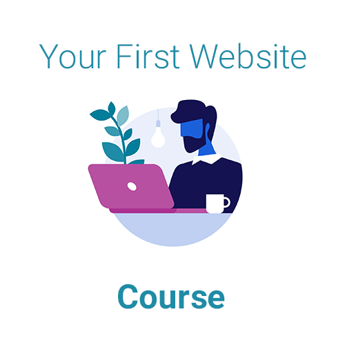 Your First Website Course