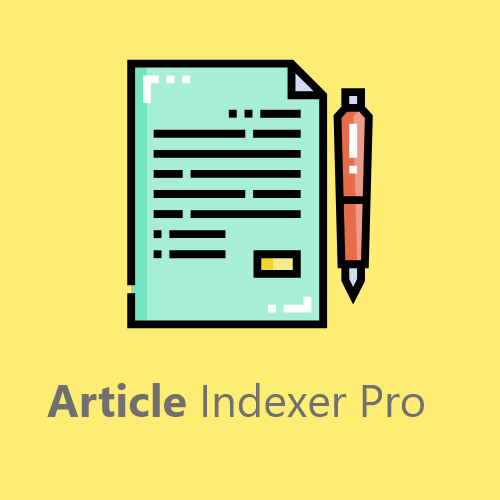 Article Indexer Pro
